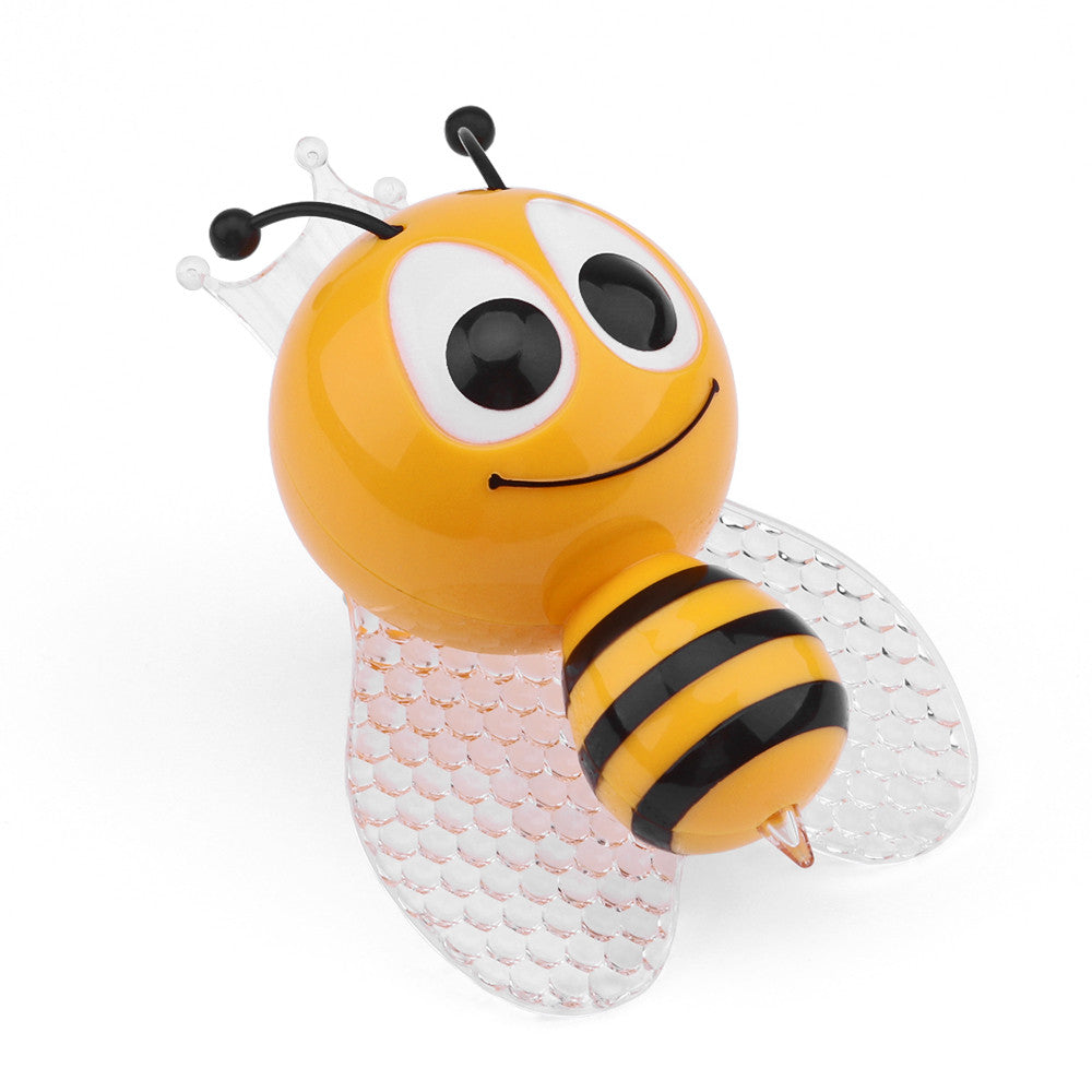Bee LED Night Light Cute Colorful Bedside Lights for Baby Bedroom