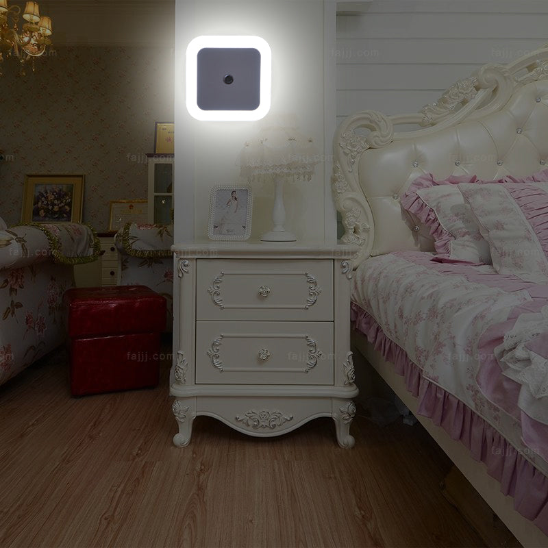 LED night light Plug Colors Bed Lamp For Baby Bedroom