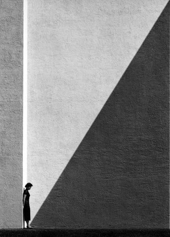 Approaching Shadow - 1954 - By Fan Ho at AO Vertical Art Space