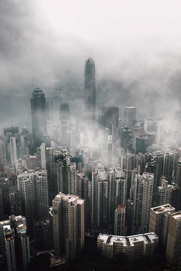 Cloudy Hong Kong