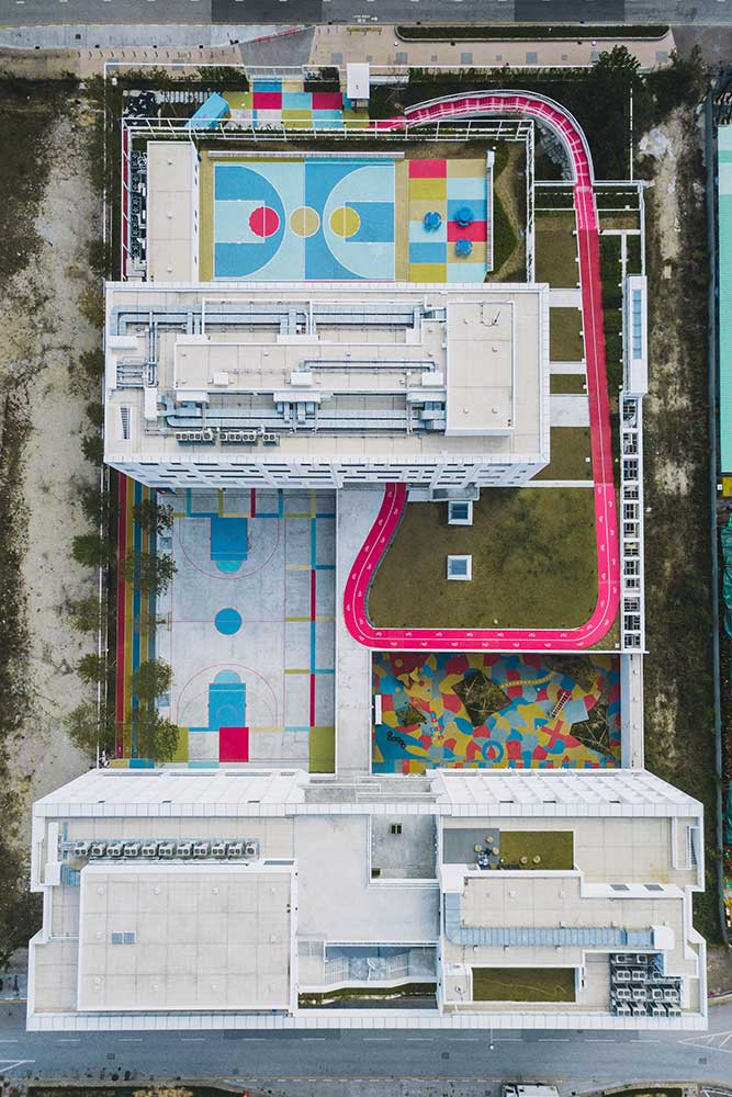 The Colorful School