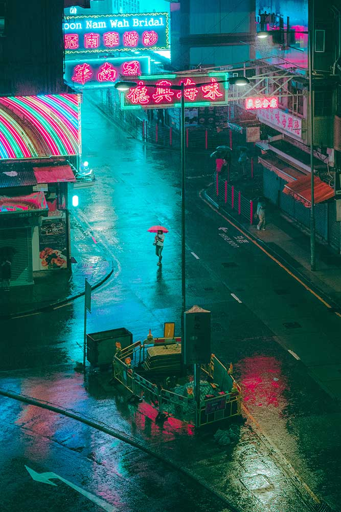 Alone in the Rain