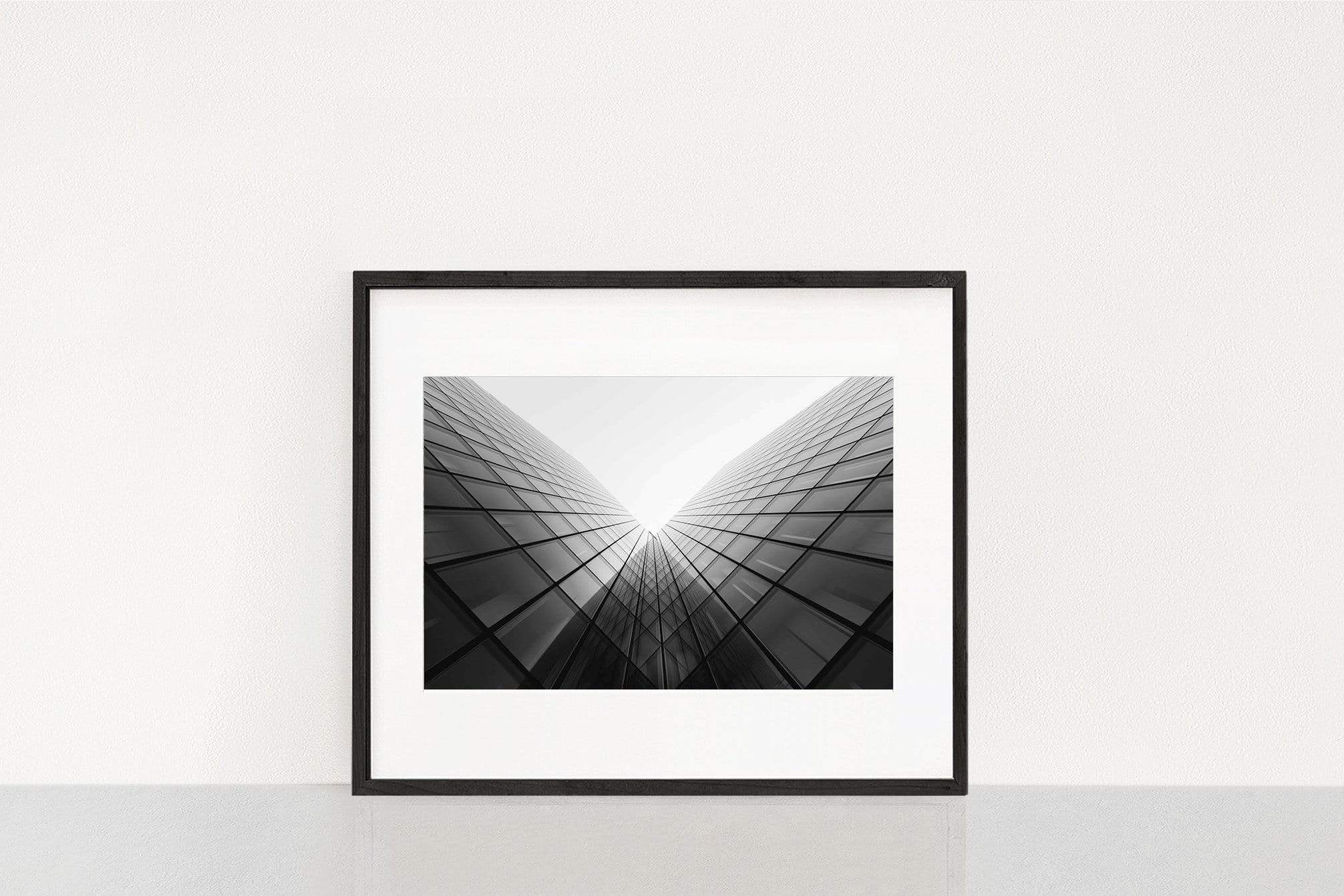 Photography Wall Art Steven U Building perspective Normal 25x38cm / Black