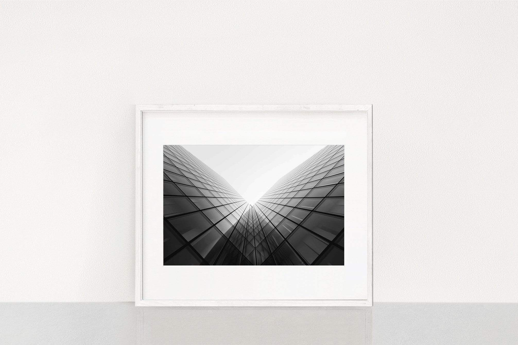 Photography Wall Art Steven U Building perspective Normal 25x38cm / White