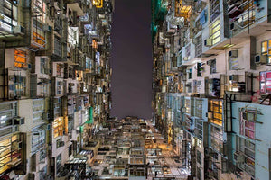 Photography Wall Art Steven U Old Hong Kong Normal 25x38cm / Print Only