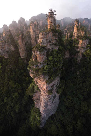 Pillars of Zhangjiajie