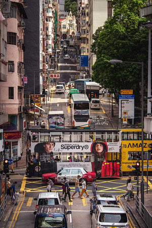 Sai Ying Pun Traffic