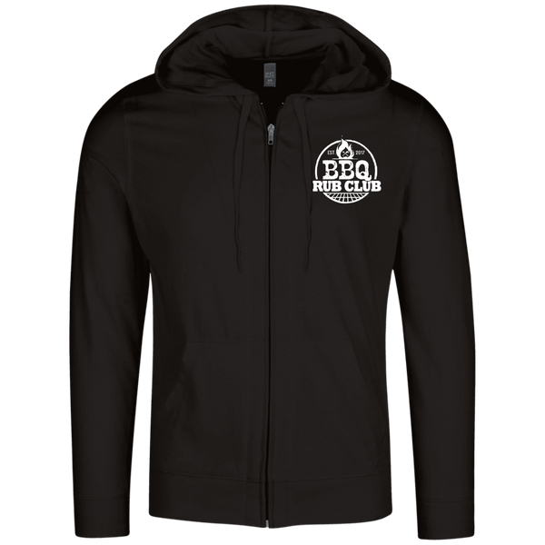 BBQ Rub Club Lightweight Full Zip Hoodie
