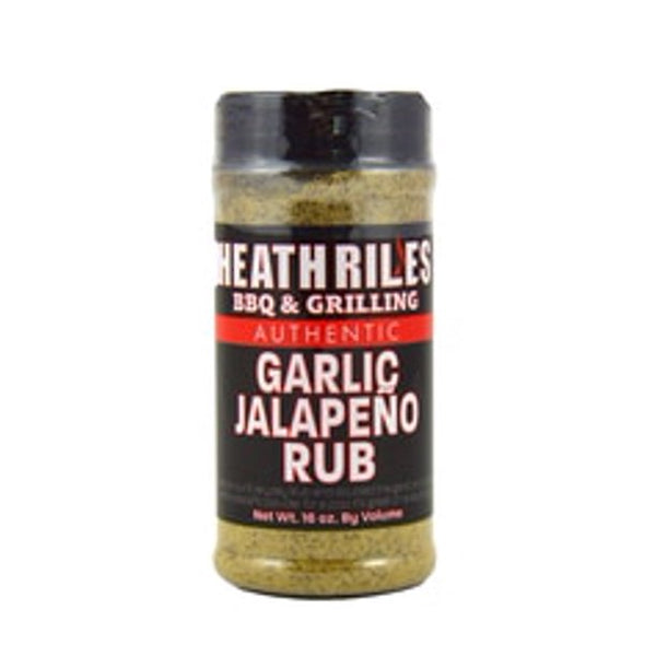 Heath Riles Garlic Jalapeno BBQ Rub