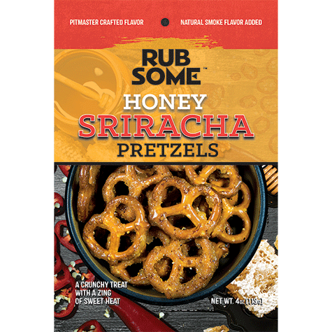 Rub Some - Honey Sriracha Pretzels