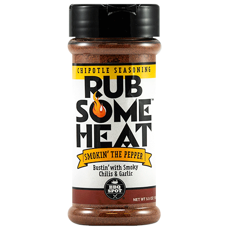 RUB SOME Heat Chipotle BBQ Rub