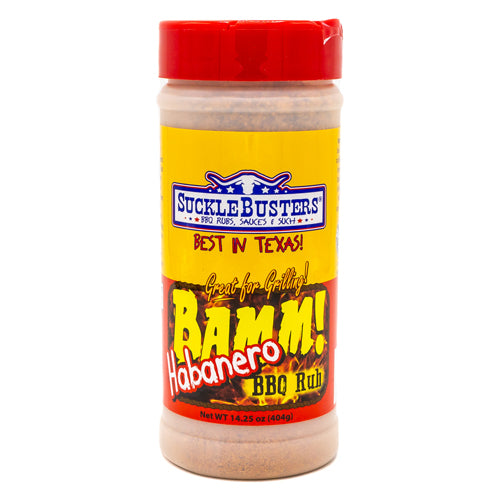 Suckle Busters Bamm Habanero Rub