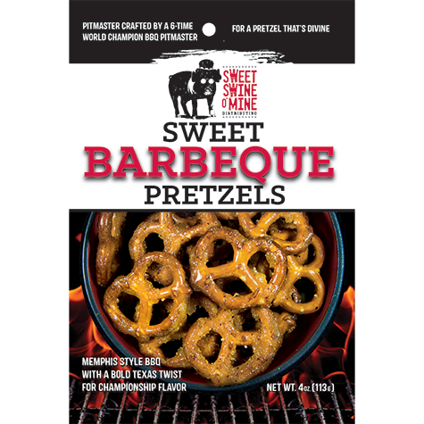 Sweet Swine O'Mine - Sweet Barbeque Pretzels
