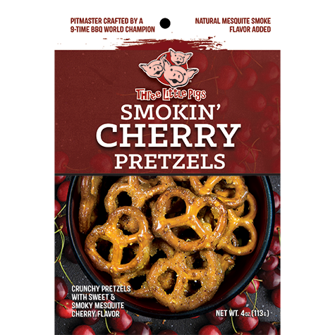 Three Little Pigs - Smokin' Cherry Pretzels