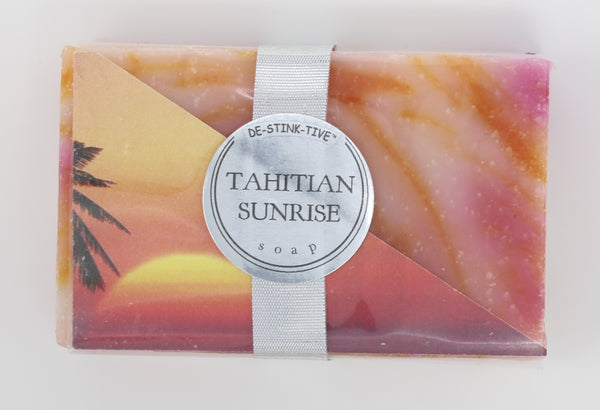 Tahitian Sunrise bar soap