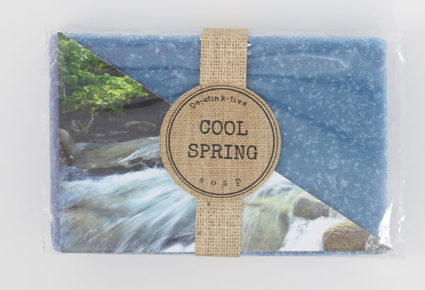 Cool Spring bar soap