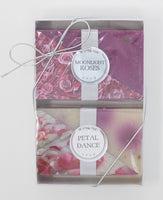 2-Pack: Moonlight Roses & Petal Dance bar soap