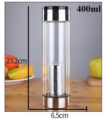 Bullet Bottle Tea Infuser
