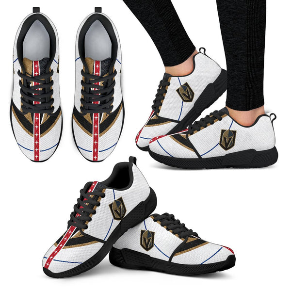 c026ce64e4edf6 Vegas Golden Knights Athletic Sneakers - BONBALL