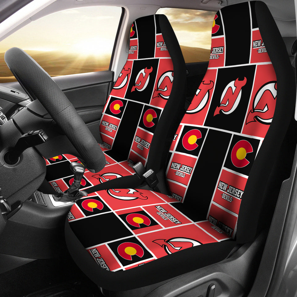 New Jersey Devils Car Seat Covers