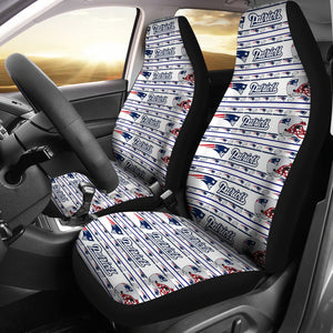 New England Patriots Car Seat Cover