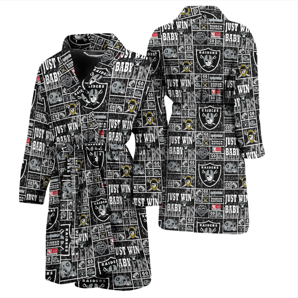 f0ac79a3f0 Oakland Raiders Men s Robe