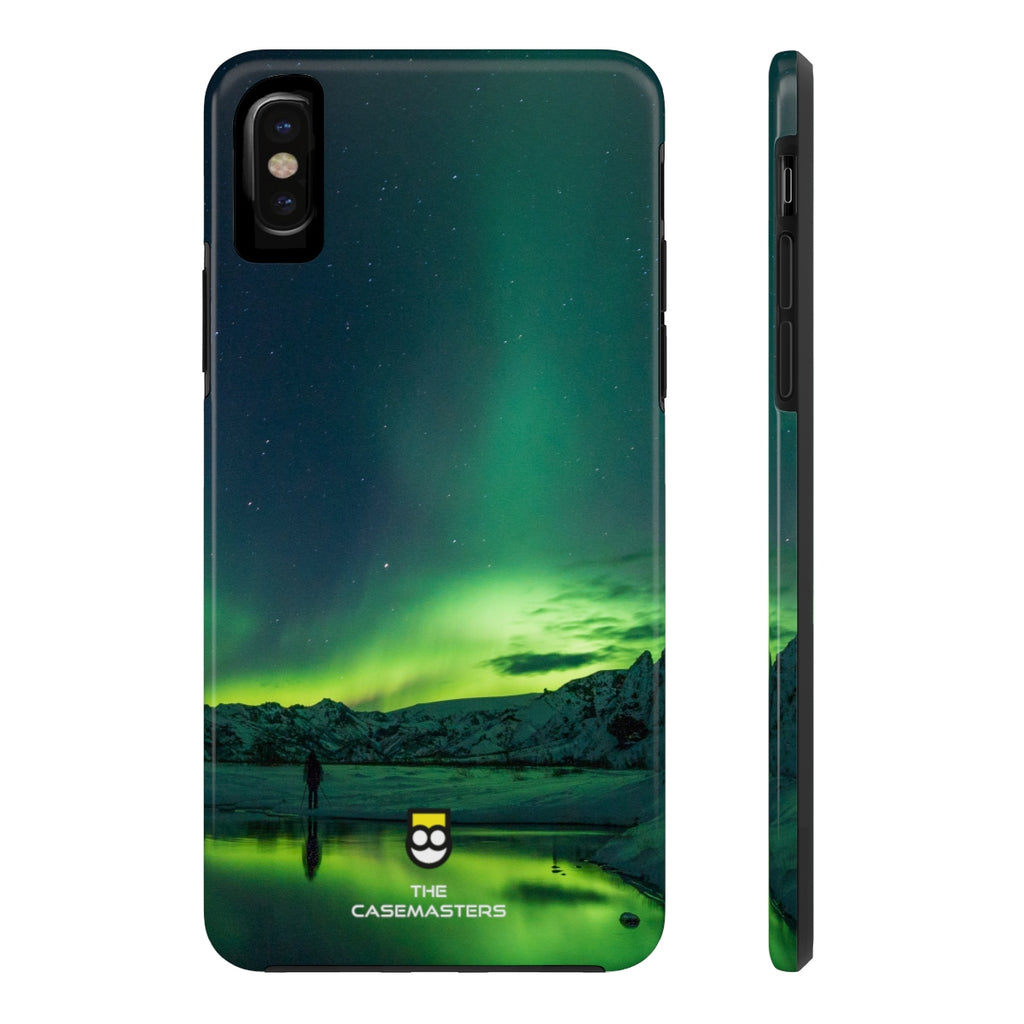 Aurora Night (RUGGED ARtMOR), Rugged iPhone Case - The Case Masters