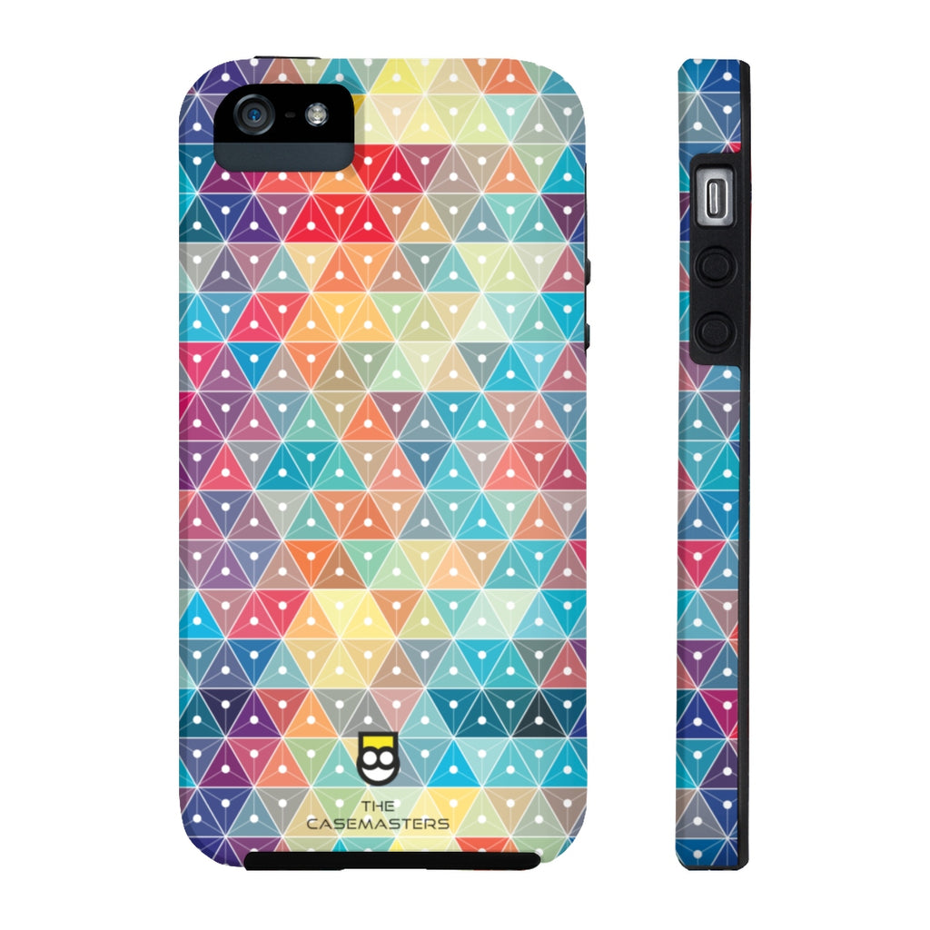 Abstract Pride (RUGGED ARtMOR), Rugged iPhone Case - The Case Masters