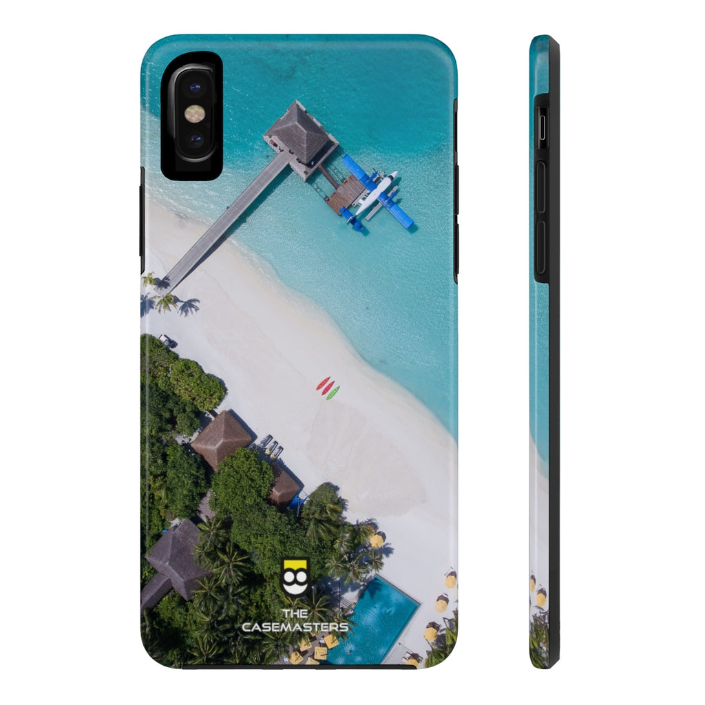 Beach Cabin (RUGGED ARtMOR), Rugged iPhone Case - The Case Masters