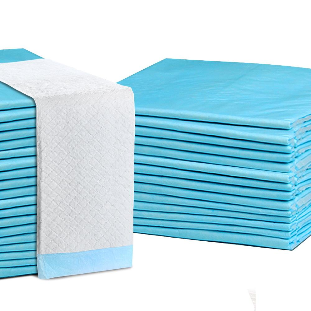 200pcs Puppy Dog Pet Training Pads Cat Toilet 60 x 60cm Super Absorbent Indoor Disposable Cat Supplies Kings Warehouse