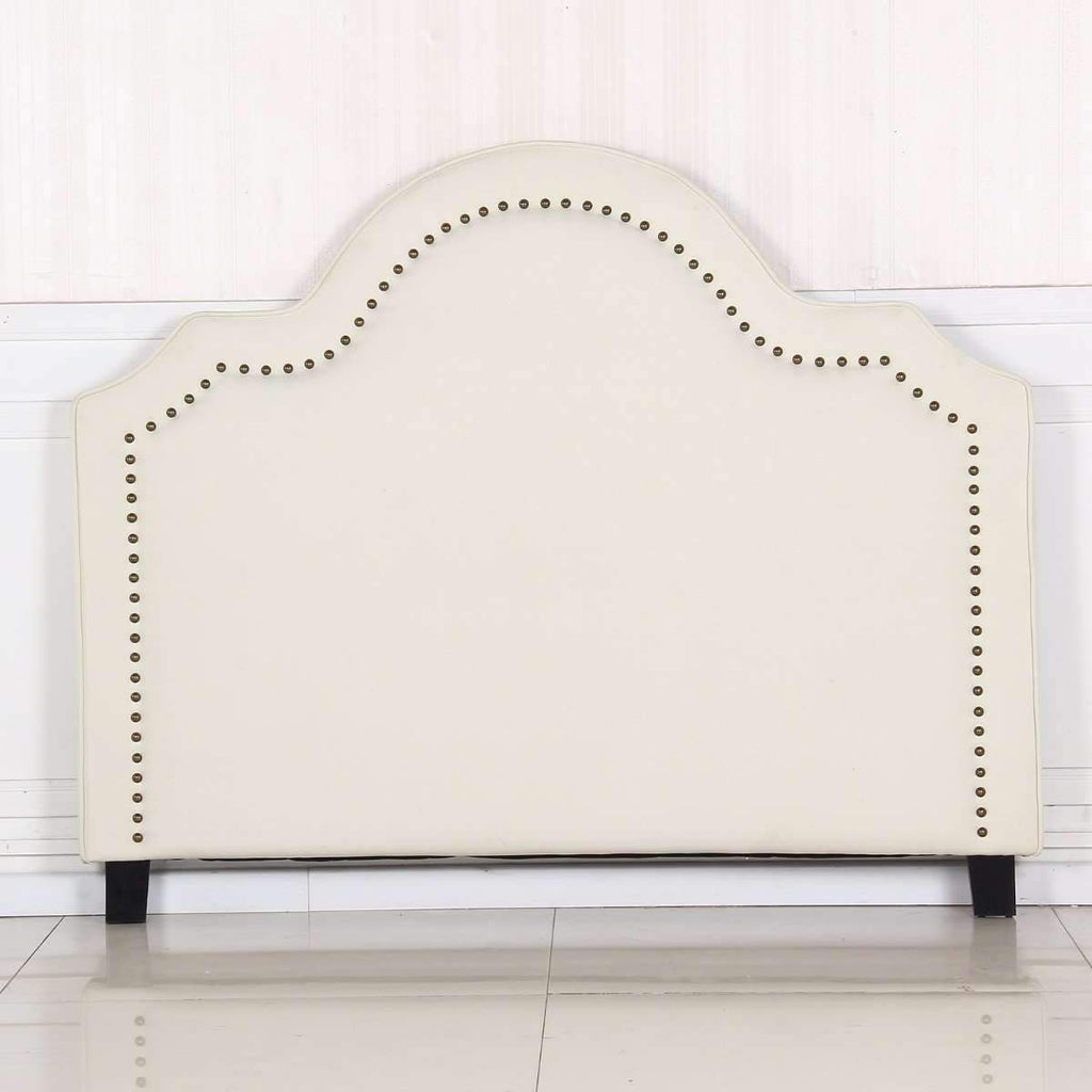 Anne Queen White Headboard Kings Warehouse