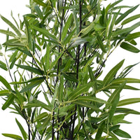 Artificial Bamboo Black Bamboo 160cm Real Touch Leaves Kings Warehouse