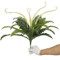 Artificial Dark Green Boston Fern 60cm Kings Warehouse
