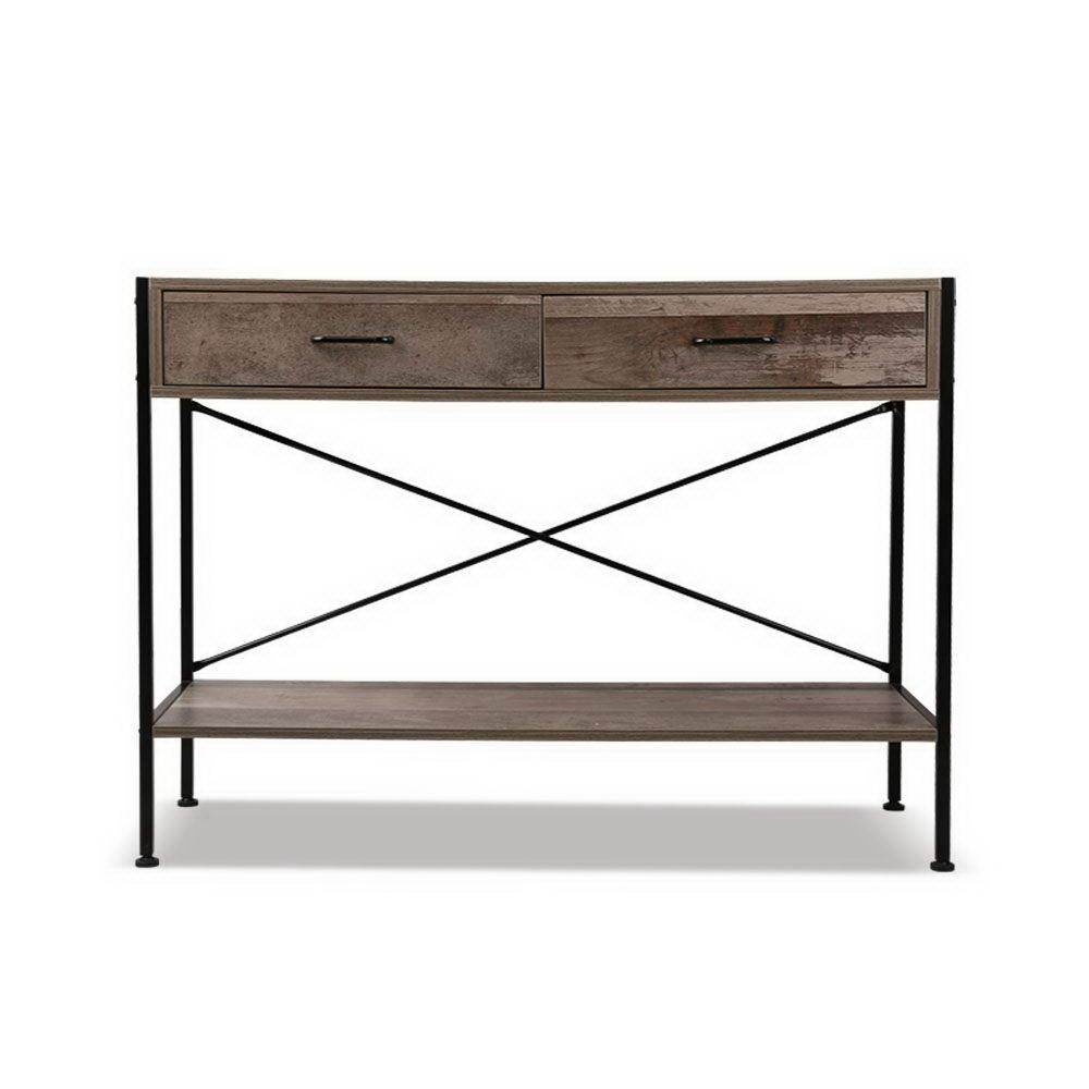 Artiss Wooden Hallway Console Table - Wood Living Room Kings Warehouse