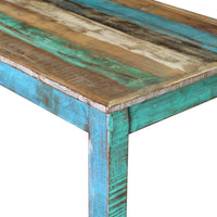Bar Table Solid Reclaimed Wood 115x60x107 cm Kings Warehouse