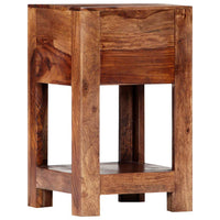 Bedside Cabinet 30x30x50 cm Solid Sheesham Wood Kings Warehouse
