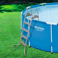Bestway Above Ground Pool Ladder with Removable Steps Kings Warehouse