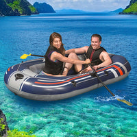Bestway Kayak Kayaks Boat Fishing Inflatable 2-person Canoe Raft HYDRO-FORCE Kings Warehouse