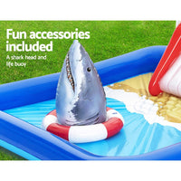 Bestway Swimming Pool Above Ground Kids Play Pools Lifeguard Slide Inflatable Pool & Accessories Kings Warehouse