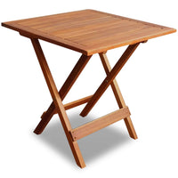 Bistro Table 46x46x47 cm Solid Acacia Wood