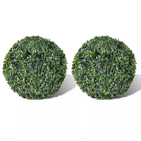Boxwood Ball Artificial Leaf Topiary Ball 27 cm 2 pcs