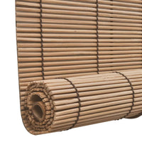 Brown Bamboo Roller Blinds 100 x 160 cm Kings Warehouse