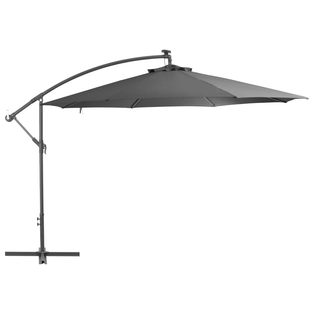 Cantilever Umbrella with Aluminium Pole 350 cm Anthracite Kings Warehouse