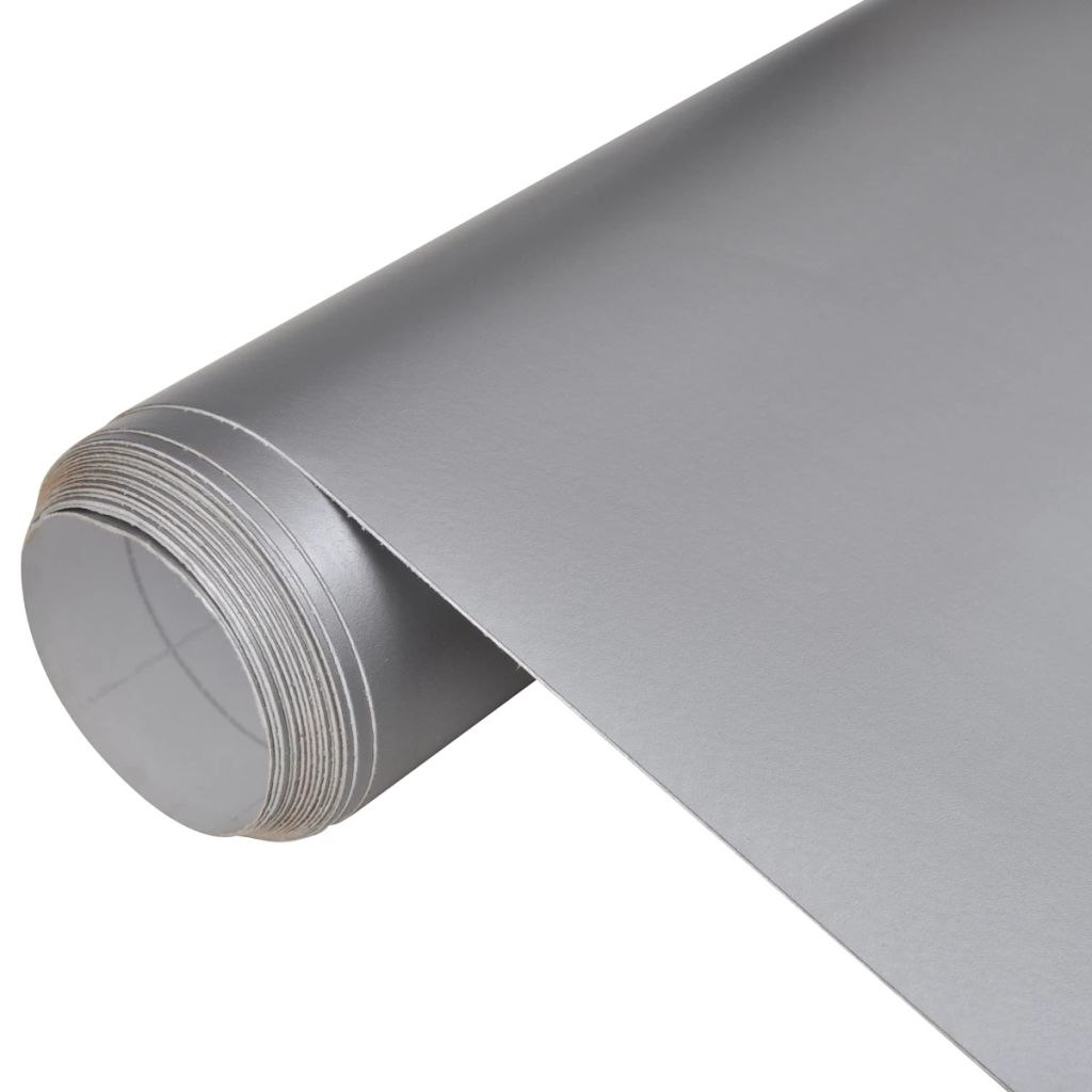 Car Film Matt Silver 200 x 152 cm Waterproof Bubble Free Kings Warehouse