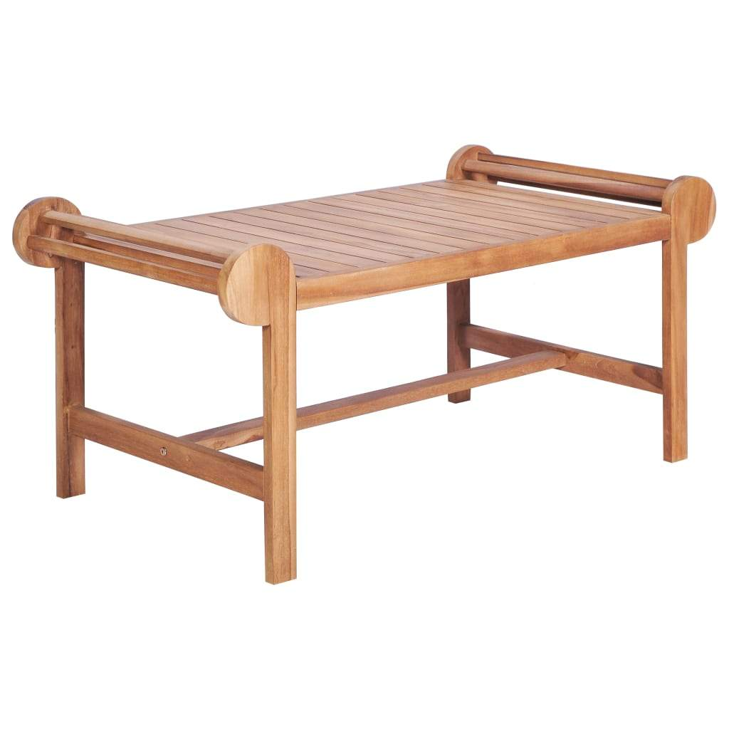 Coffee Table 100x50x45 cm Solid Teak Kings Warehouse