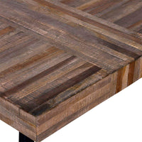 Coffee Table Square Reclaimed Teak Wood Kings Warehouse