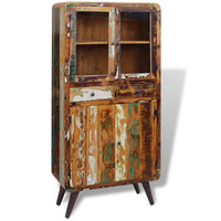 Cupboard Solid Reclaimed Wood 90x40x190 cm Kings Warehouse