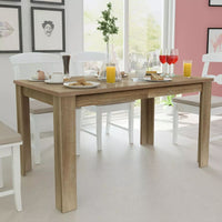 Dining Table 140x80x75 cm Oak