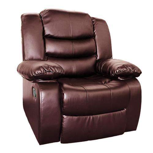 Dream Recliner Bonded Leather -1R -BROWN Kings Warehouse