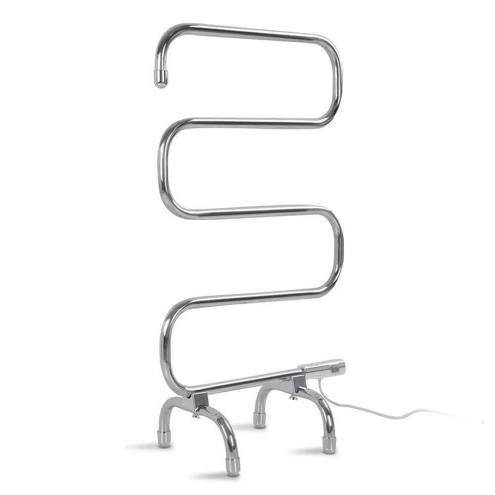 Electric Heated Towel Rail Home & Garden Kings Warehouse